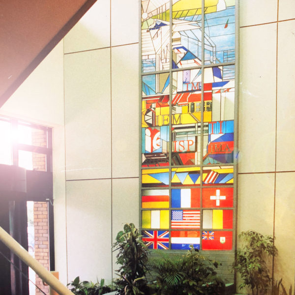 Entrance in JMA computer headquarters