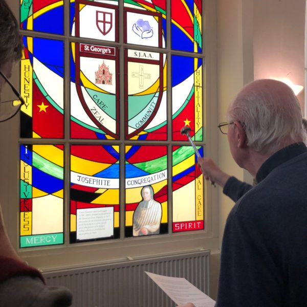 Blessing of the Josephite's 200th Anniversary window