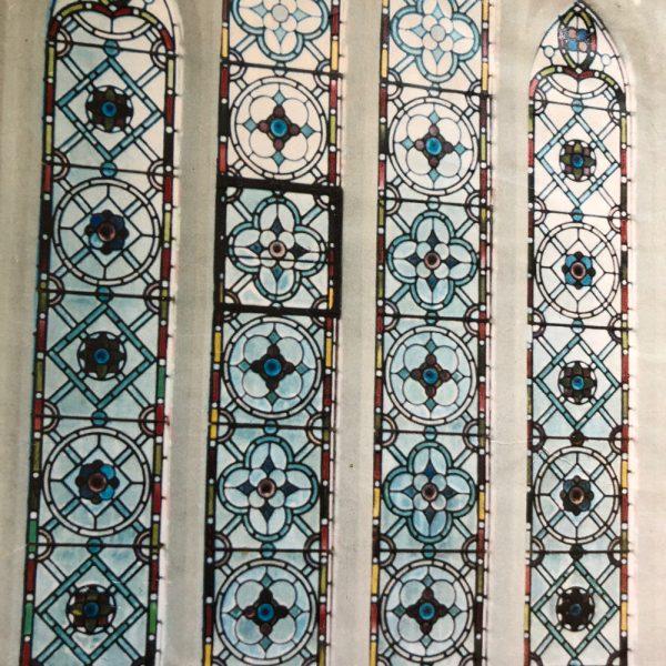 Geometric design-church window