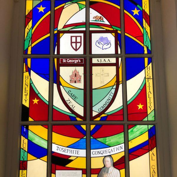 200th Anniversary Josephine's window