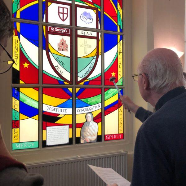 Blessing of the Josephite's 200th Anniversary window