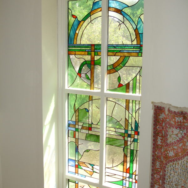 Art Deco inspired 5m high window